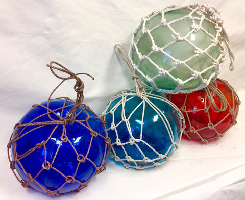Float, Fishing Net, Medium, Assorted Colors - Annapolis Maritime Antiques