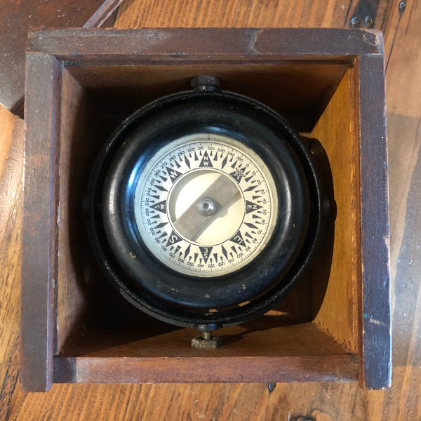 Compass, Wilcox Crittenden & Co. - Annapolis Maritime Antiques