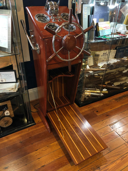Chris Craft Sportsman Helm Station Bar, 1948