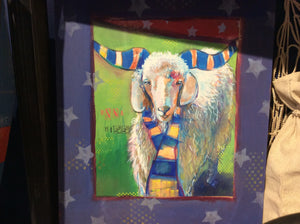 Collage, Bill The Goat, Original - Annapolis Maritime Antiques