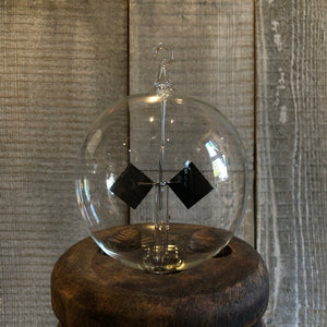 Handblown Glass Radiometer Bulb