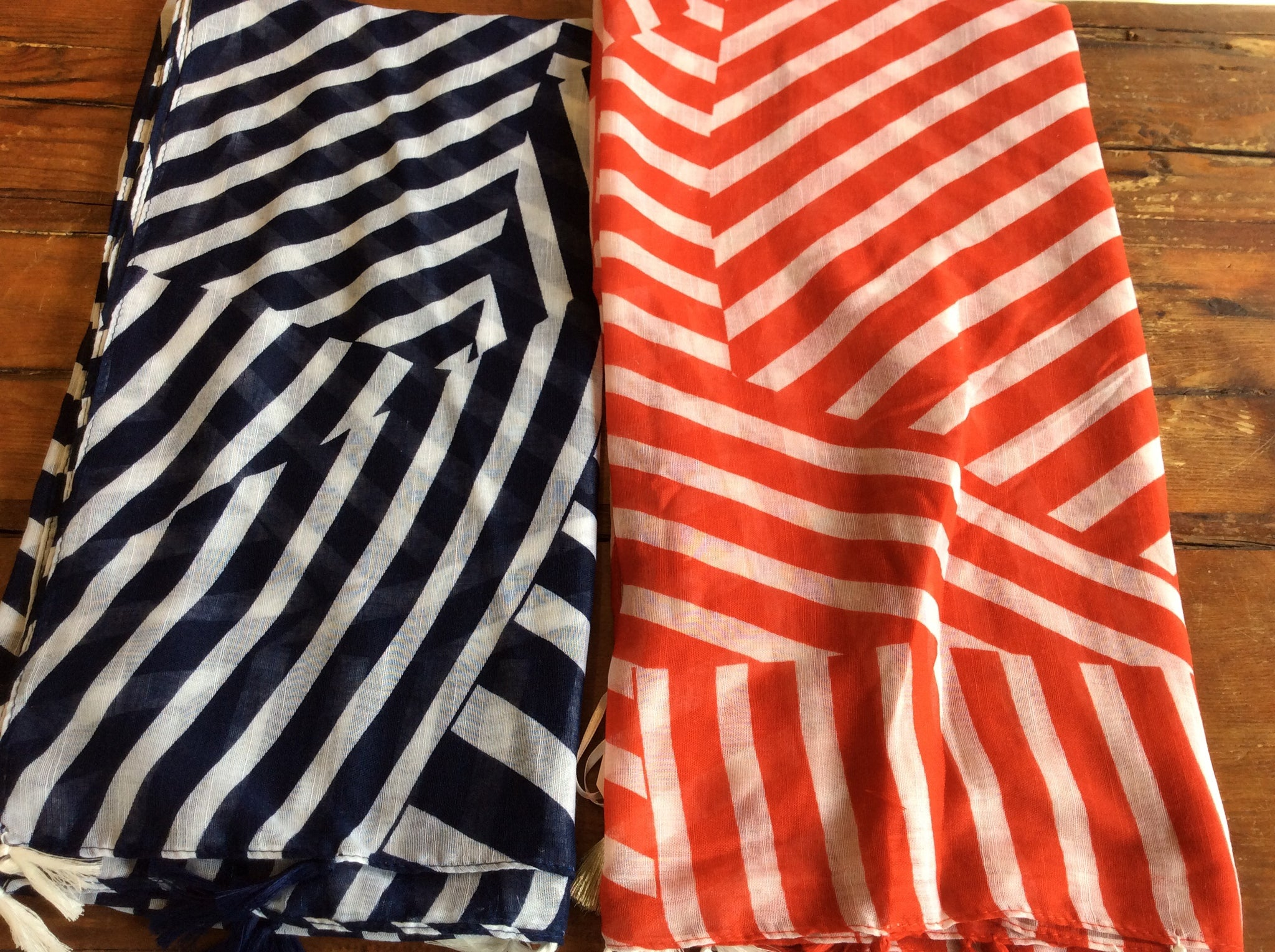 Scarf, various colors and designs - Annapolis Maritime Antiques