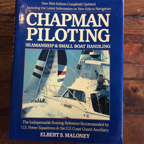 "Book; ""Chapman Piloting"" 59th Edition - Annapolis Maritime Antiques"