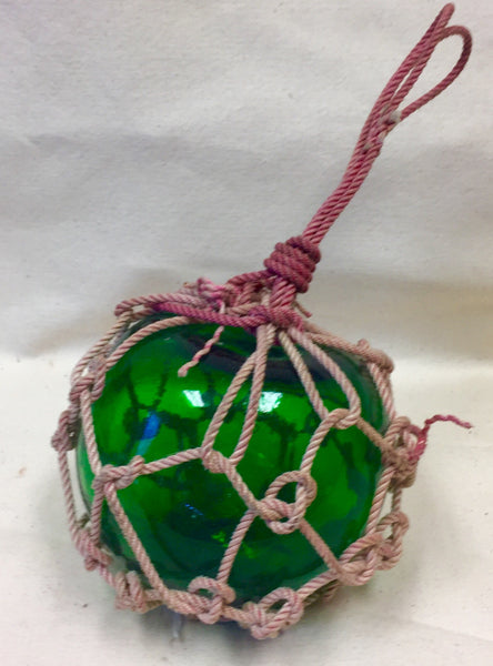 Float, Fishing Net, Small, Assorted Colors - Annapolis Maritime Antiques