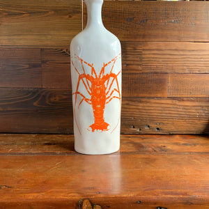 White Lobster Vase
