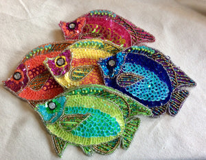 Purse, Fish Coin Purse, Multiple Colors