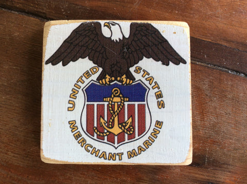 Coasters, Custom Made on the Chesapeake Bay, Cork Base - Annapolis Maritime Antiques