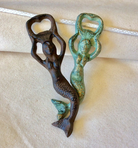 Bottle Opener, Mermaid - Annapolis Maritime Antiques