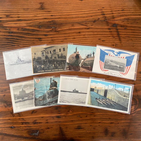 Postcards Submarine's