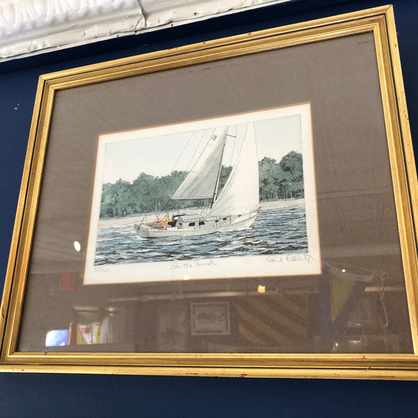 "Framed print, ""On the Sound"""