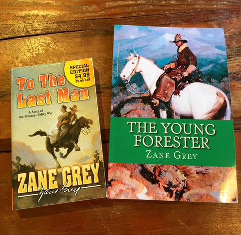 Book, Zane Grey assorted editions - Annapolis Maritime Antiques