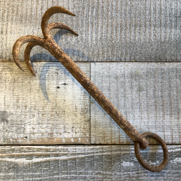 Salvaged Grappling Anchor