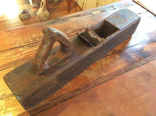 Planer, Shipwright's, circa early 1800's, Chesapeake Bay