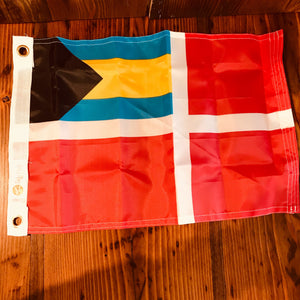 Bahama Courtesy Flag - Annapolis Maritime Antiques