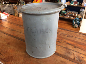 Canister, Flares, Circa WW II - Annapolis Maritime Antiques