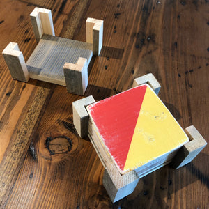 Coaster Stand, Domino sugar factory - Annapolis Maritime Antiques