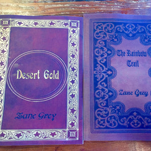 Book, Zane Grey large format novels - Annapolis Maritime Antiques