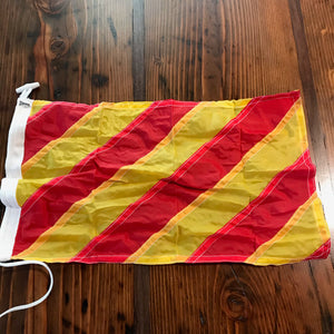 Signal Flag, Small Synthetic, New - Annapolis Maritime Antiques