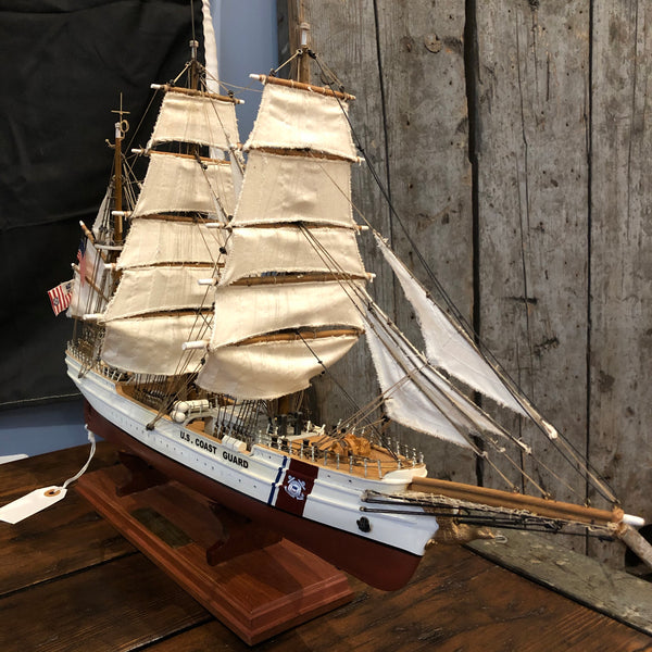 Handmade model CG Cutter Eagle - Annapolis Maritime Antiques