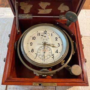 Russian Marine Chronometer