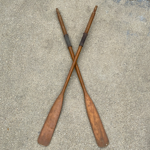 Pair of 1940's Oars