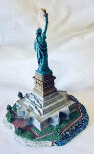 Statue of Liberty By Harbor Lights
