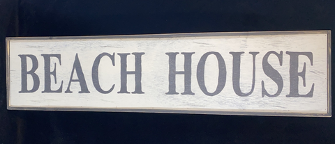 Sign, Beach House