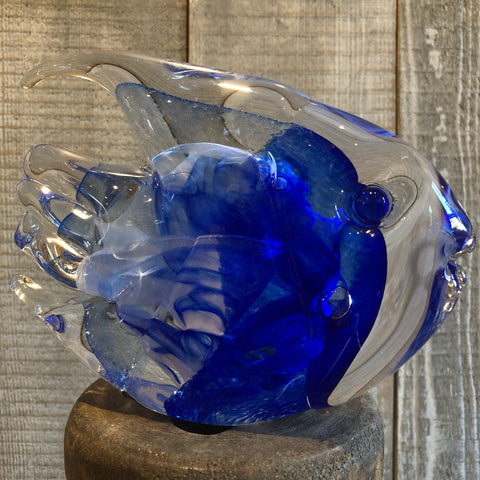 Solid Glass Fish (Large Single) - Annapolis Maritime Antiques