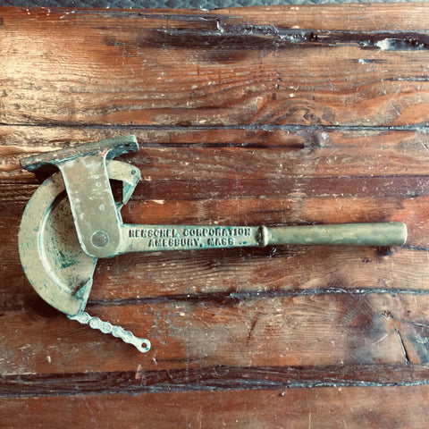 Lever, Whistle assembly brass - Annapolis Maritime Antiques