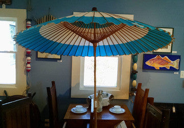 Umbrella, paper, Japan, circa 1950 - Annapolis Maritime Antiques