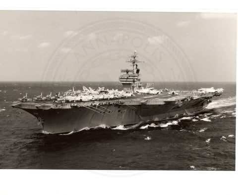 USS John F. Kennedy (CVA-67) 9 prints, identify which print you want after placing in cart. - Annapolis Maritime Antiques