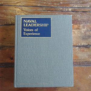 "Book ""Naval Leadership - Voices of Experience"""