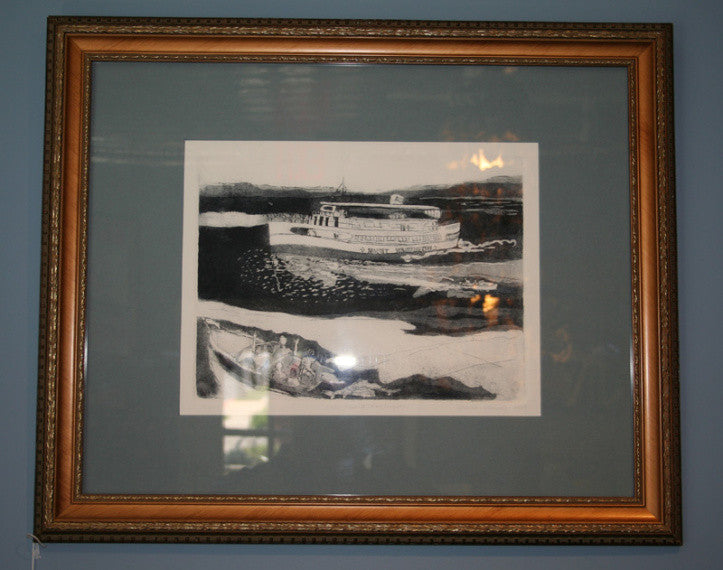 Picture, Print, signed 4/15, The Mount Washington - Annapolis Maritime Antiques