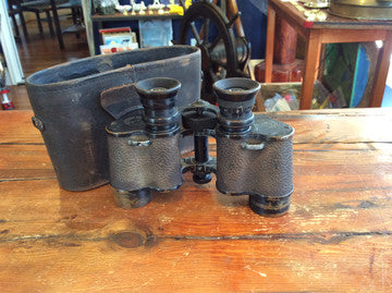 Binoculars, Bausch and Lomb Circa 1916-1932 Zeiss Prism Stereo - Annapolis Maritime Antiques