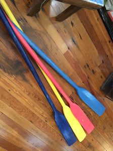 "Oars, Various Colors, 78"" - Annapolis Maritime Antiques"