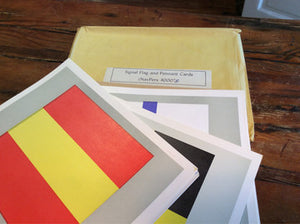 Signal Flag And Pennant Cards (set)