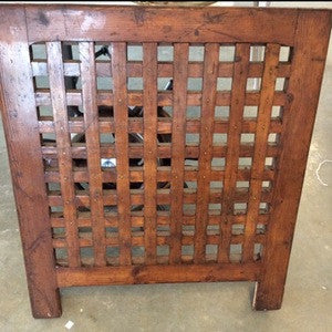 "Grate, Wood, Oak, 27x32"" - Annapolis Maritime Antiques"