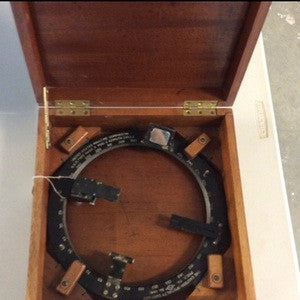 Azimuth Circle, made by The Eastern Specialty Co - Annapolis Maritime Antiques