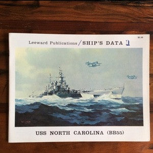 Booklet USS North Carolina, Ship's Data Publication, Copyright 1973 (Book) - Annapolis Maritime Antiques