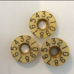Engine Order Telegraph Numbers - Annapolis Maritime Antiques
