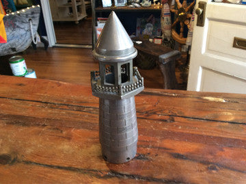Lighthouse, Made Shipboard, Christmas 1924, Engraved - Annapolis Maritime Antiques