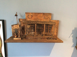 Key West Gas Station Art, Copper And Steel - Annapolis Maritime Antiques