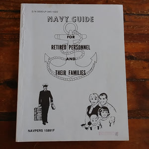 "Book ""Navy Guide for Retired Personnel and Their Families"""