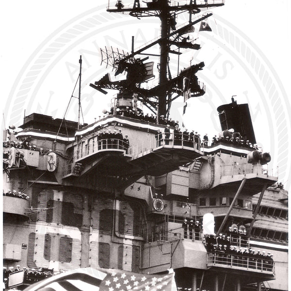USS Saratoga (CVA-60) 23 prints, add note to order specific print - Annapolis Maritime Antiques