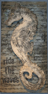 Artwork: Seahorse, Ride The Waves - Annapolis Maritime Antiques