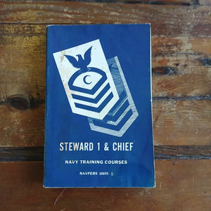 "Book ""Steward 1 & Chief - Navy Training Courses"""