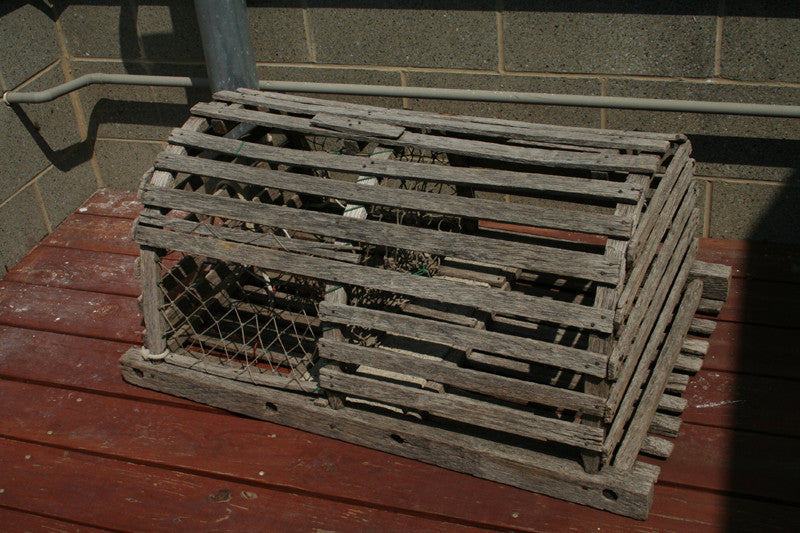 Lobster Trap, New England Authentic - Annapolis Maritime Antiques