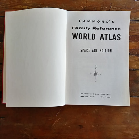 "Book ""Hammond's Family Reference - WORLD ATLAS"""