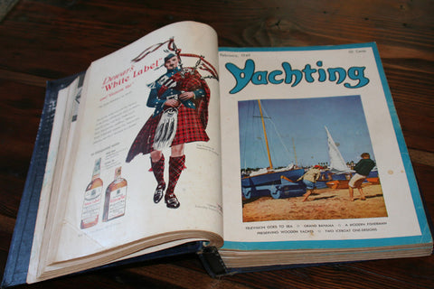 Yachting Magazines, Bound, 1949 - Annapolis Maritime Antiques