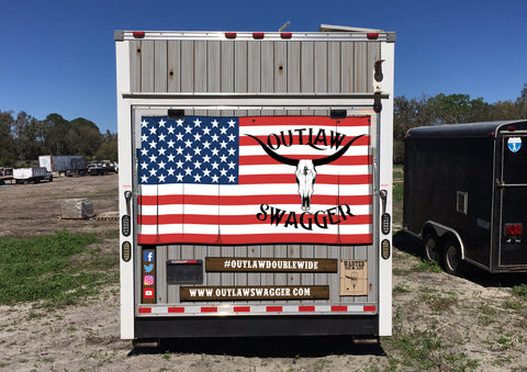 Outlaw Swagger American Flag